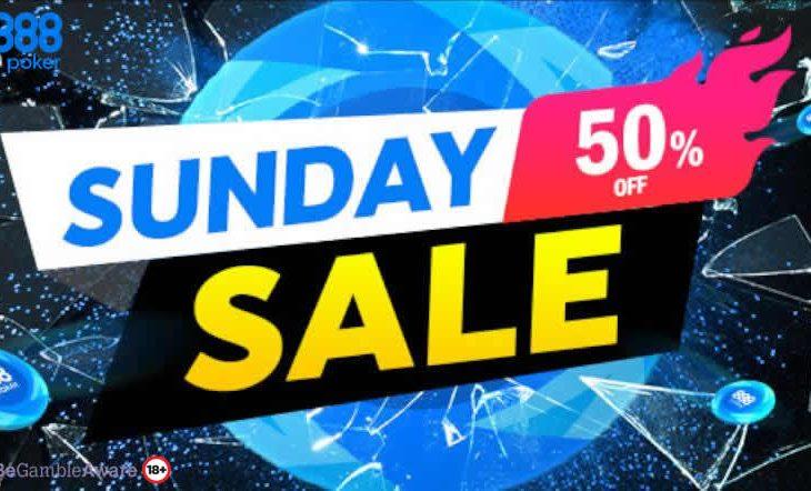Sunday mengembalikan Sunday Sale di 888poker