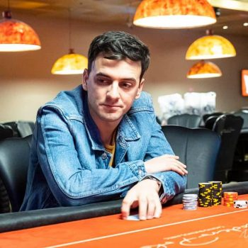 Tabel final baru Rodrigo Pérez di WCOOP