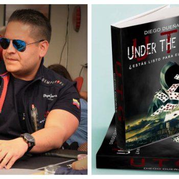 Diego Dueñas memberi tahu kita tentang novelnya Under the Gun