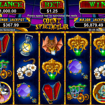 Hitung Slot Spektakuler - 25 Garis Pembayaran dan Bonus Putaran Gratis