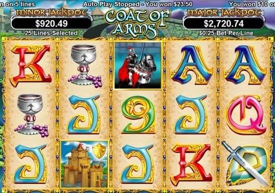 Slot Lambang - 25 Paylines dan Fitur Bonus Putaran Gratis