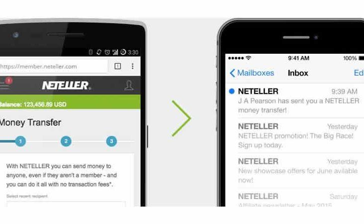 Jelajahi NETELLER dengan desain baru dan sederhana untuk pengalaman yang lebih baik