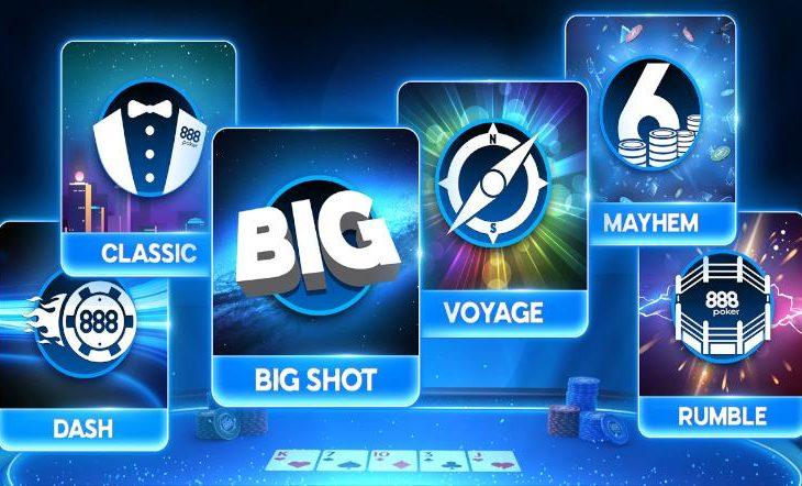 Lihat koleksi turnamen 888poker / Pokerlogia yang baru