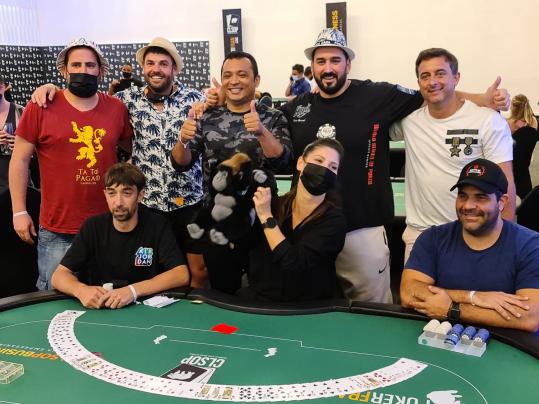 Cristian Stival finalis High Roller / Pokerlogia