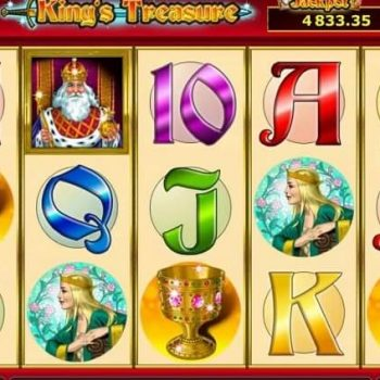 Nikmati gameplay sederhana dengan slot Novomatic Kings Treasure