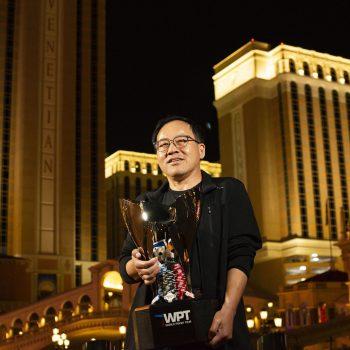 Qing Liu memainkan dua tabel final WPT hanya dalam dua hari / Pokerlogia