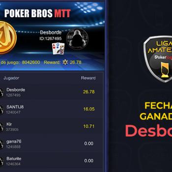 Overflow mengambil tanggal kedua dari Pokerlogia Liga Amatir