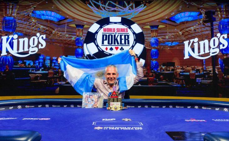 Juara Damien Salas Main Event WSOP 2020