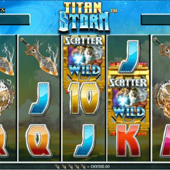 Kesenangan yang saleh Dalam Game Mesin Slot Online Titan Storm