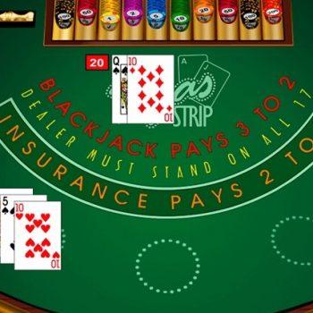 Mainkan blackjack online di kasino online terkemuka sekarang!