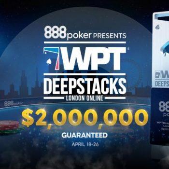 WPT DeepStacks akan hadir di 888poker dengan hadiah 2M / Pokerlogia