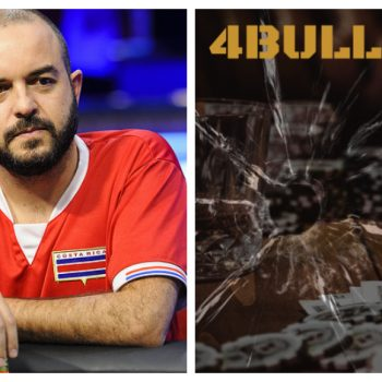 """Steven Thompson akan menceritakan hidupnya dalam buku """"4 Bullets"""" / Pokerlogia"""