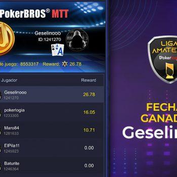 Geselinooo mengambil tanggal kedua Liga