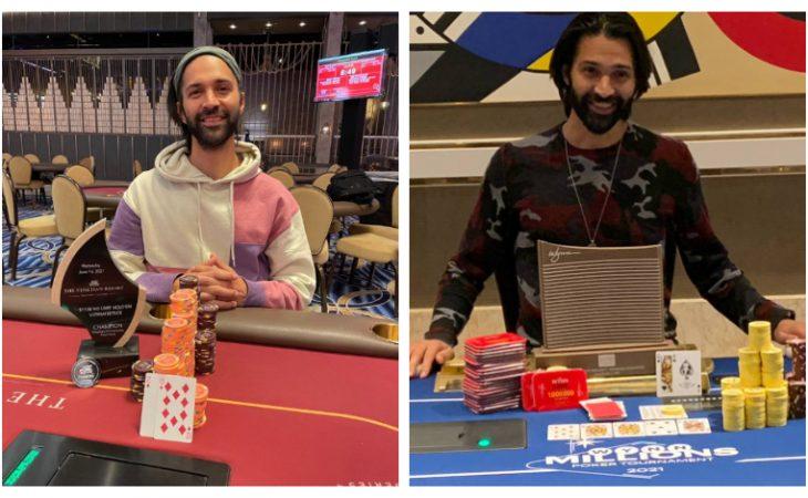 Andrew Moreno Bi-Champion di Las Vegas selama Juni / Pokerlogia