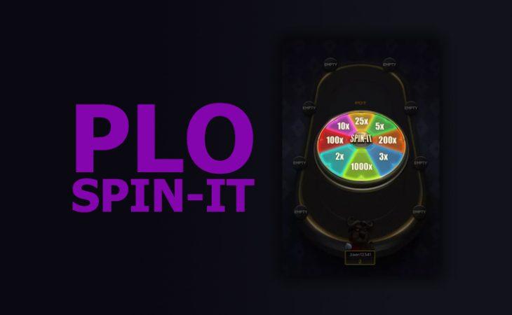 Spin-It PLO sekarang tersedia di aplikasi PokerBROS