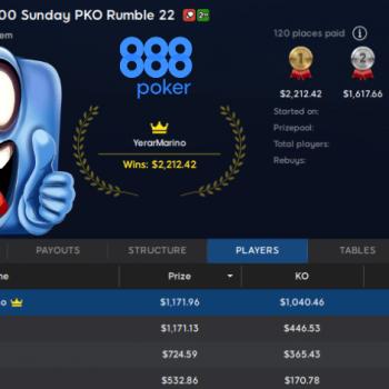 Tempat pertama di Argentina dan Meksiko / Pokerlogia