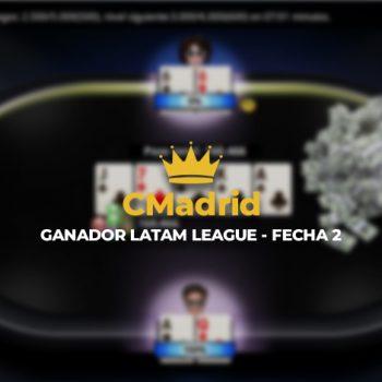 """""""CMadrid"""" memenangkan tanggal kedua Liga LATAM"""