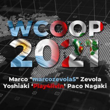 Mega Bombazos oleh Marco Zévola dan Paco Nagaki di WCOOP 2021